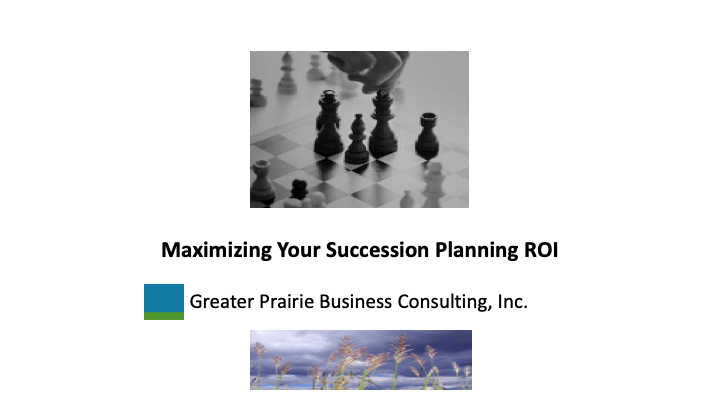 maximizing your succession planning return of investment